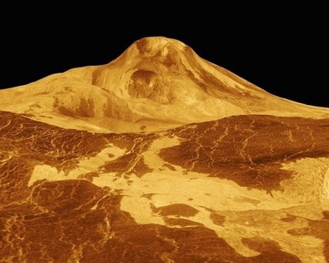 Venus' crust heals too fast for plate tectonics | Geology | Scoop.it