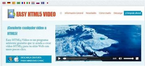 easyhtml5video – Para crear vídeos en HTML5 para nuestro sitio web | ViniTolentino | Scoop.it