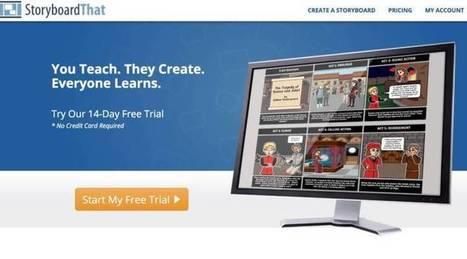StoryboardThat. Créer des storyboards pour apprendre avec des images | Education et TICE | Scoop.it