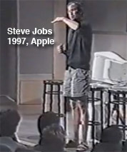 Presentation Zen: Steve Jobs on marketing & identifying your core values | Just Story It Biz Storytelling | Scoop.it