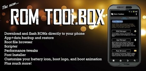 ROM Toolbox Pro - Applications sur l'Android Market | Android Apps | Scoop.it