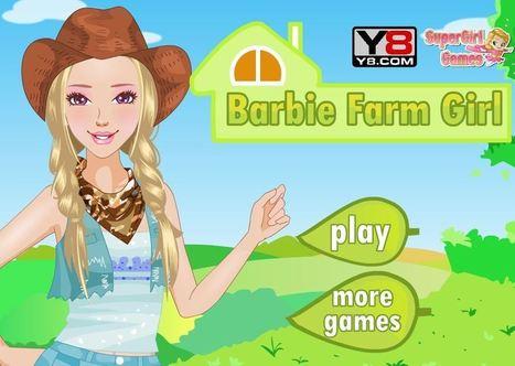 لعبة تلبيس باربي في المزرعة | العاب تلبيس بنات | Scoop.it
