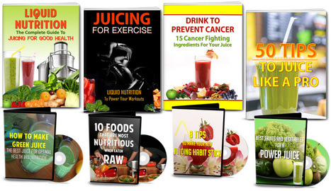 [GET] Juicing & Raw Food For Health PLR Pack Review – Download | Janelle Atencio | Scoop.it