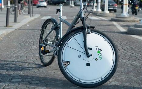 Une roue électrique qui transforme votre bicyclette en e-bike, vraie solution ou gadget ? | Entrepreneuriat et économie sociale | Scoop.it