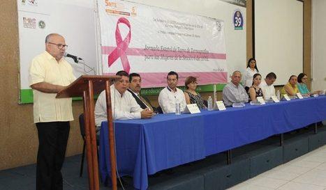 Docentes  de la sección 6 del SNTE reciben termografías para detectar cáncer | Secretaria de Educación Colima | Scoop.it