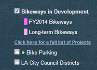 Updated Online Bicycle Map and Bikeway Projects page For Los Angeles DOT | Bicycle Safety and Accident Claims in CA | Scoop.it