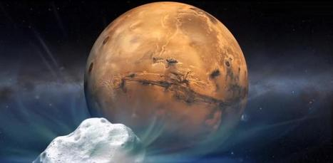 Historic Flyby: Comet to Zoom By Mars This Weekend | Space Stuff | Scoop.it