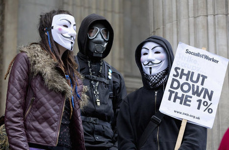 Occupy London stage protest inside St Paul's | #ows | Scoop.it