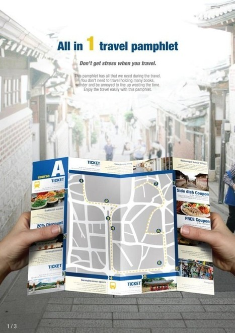 Travel Pamphlet Design by Jihyun Seo | Premium WordPress Themes | Scoop.it