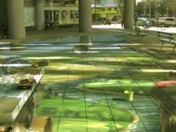 3D Street Painting Shows Just How Toxic Laundry Water Is (Video ... | Machinimania | Scoop.it