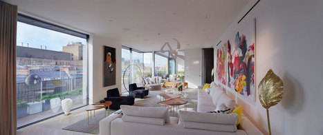 Penthouse in the heart of Mayfair - London- by Studio Mackereth | Tododesign | Scoop.it