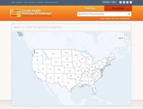 Mapping County Health Rankings: Mapnik, Node.js and PostgreSQL | Nodejs-code | Scoop.it