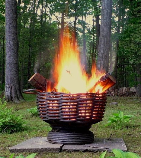 Recycled Cable Wire Firebowls | Recycled Crafts | Scoop.it