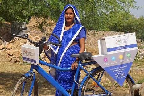 How Google's Bicycle-Riding Internet Tutors Are Getting Rural Indian Women Online | The Innovation Economy | Scoop.it