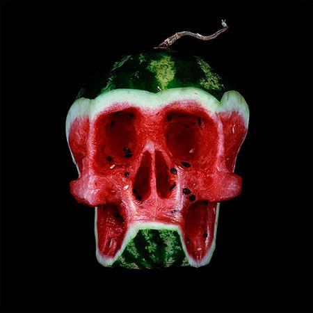 fruity skulls by Dimitri Tsykalov   Food Culture   Scoop.it
