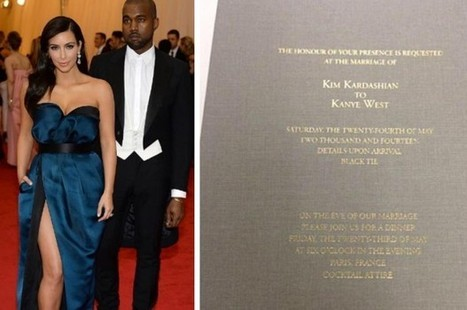 Wedding Invitation Wording According To Celebrities | Wedding Inspiration and Planning | Scoop.it