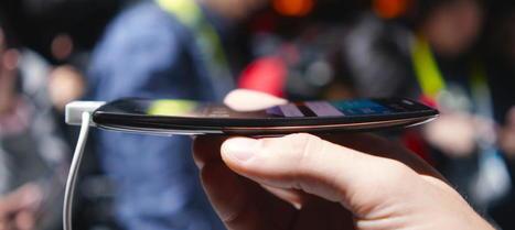 LG presenta un smartphone curvo capaz de autorreparar su cubierta trasera - Noticias de Tecnología | Aprendiendo con las TIC TAC | Scoop.it