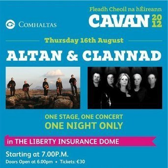 Trad Giants Altan & Clannad – Live Webcast from the Cavan Fleadh Cheoil on Thursday 16th August 7pm | Diverse Eireann-Sports | Scoop.it