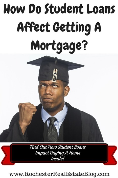 Do Student Loans Affect Mortgage Qualification? | Top Real Estate and Mortgage Articles | Scoop.it
