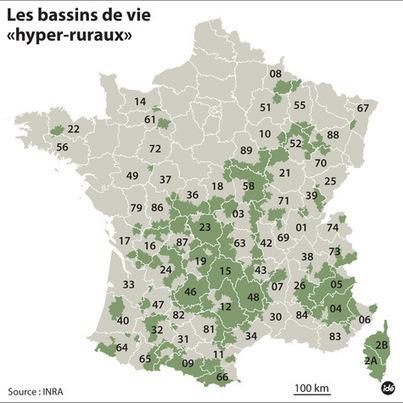 Les nouveaux déserts français | Actu de l'Aménagement Urbain | Scoop.it