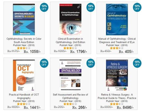 Ophthalmology Books, Buy Ophthalmology Books Online at very best price in India | Accounting Books - Law, Lega and Taxation Books | Scoop.it