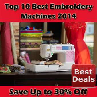 Best Embroidery Machines 2014 | BestList | Scoop.it