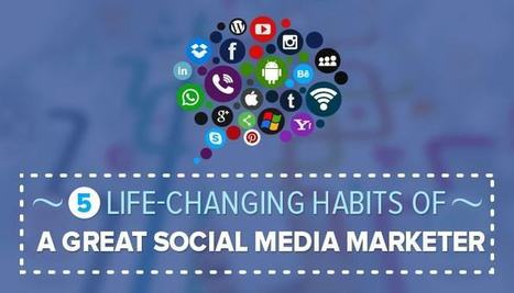 The 5 Life-Changing Habits  Of a Great Social Media Marketer | Advance Link Building Tactics | Scoop.it