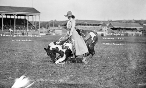 The Ballad of Lucille Mulhall, America's Original Cowgirl | Convincingly Contrarian Crumbs | Scoop.it