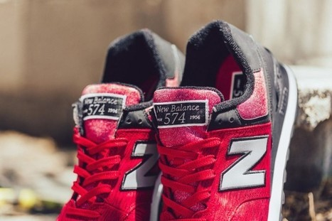 """The New Balance 574 """"Sweatshirt"""" Is Made For The Summer   #Design   Scoop.it"""
