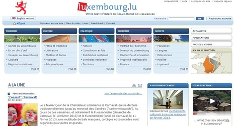 Europe - Luxembourg / Portail Internet | Luxembourg (Europe) | Scoop.it