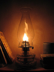 """""""What's up?  There's been apowercut"""" 