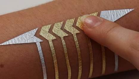 DuoSkin, un tatuaje temporal que respira tecnología | EDUCACIÓN en Puerto TIC | Scoop.it