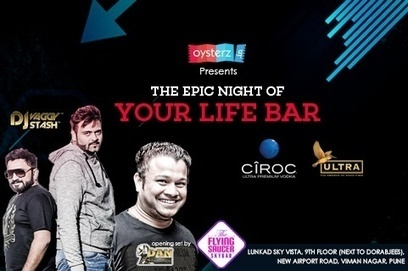 Oysterz Presents DJ Vaggy & DJ Stash Live Saturday Night at Flying Saucer Bar Pune,Nightlife in Pune - Oysterz.in | Nightlife Events in Pune,DJ Party in Mumbai, Nightclubs in Pune | Scoop.it