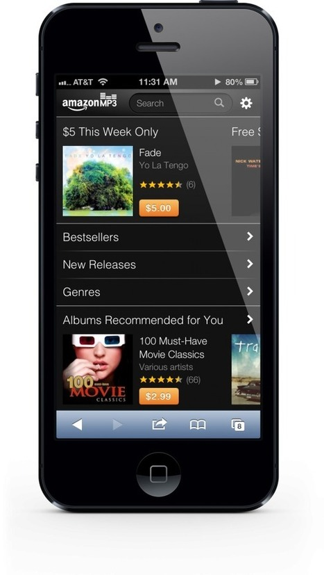 Watch Out Apple: Amazon Launches A Web-Based Music Store For iPhone Owners | iPads in Education Daily | Scoop.it