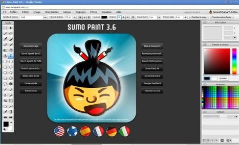 Sumo Paint 5.0.4 | CRÉER - DESSINER EN LIGNE | Scoop.it