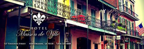 Maison de Ville | Hotel Maison de Ville | French Quarter | Vacation & Travel | Scoop.it