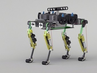 Cheetah-Cub Robot Created: See Other Nature-Inspired Machines | Biomimicry | Scoop.it