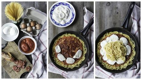 Spaghetti frittata, voor restjes van gisteren - Italië met Dolcevia.com   La Cucina Italiana - De Italiaanse Keuken - The Italian Kitchen   Scoop.it