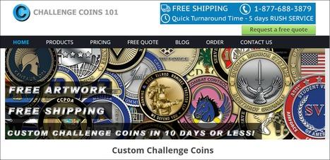 Best Custom Challenge Coins Manufacturer in USA   Challengecoins101   Coast guard challenge coins   Scoop.it