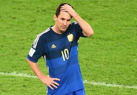 Messi blames World Cup defeat on strikers | Schrotthandel | Scoop.it