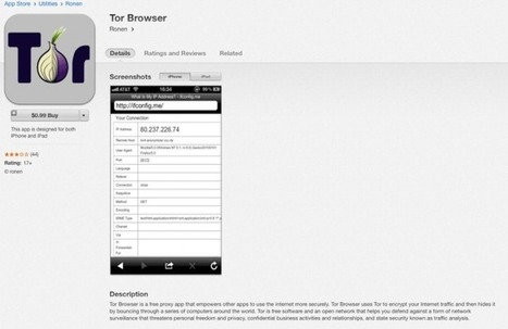 Fake Tor browser for iOS laced with adware, spyware, members warn | Apple, Mac, iOS4, iPad, iPhone and (in)security... | Scoop.it