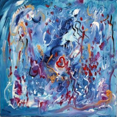 peinture abstraite moderne artiste peintre ame sauvage | Artiste peintre contemporain | Scoop.it