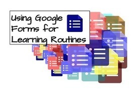 Instructional Fluency: Using Google Forms for Learning Routines | Using Google Drive in the classroom | Scoop.it