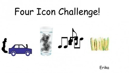 Digital Storytelling with The 4 Icon Challenge! | School Libraries and the importance of remaining current. | Scoop.it
