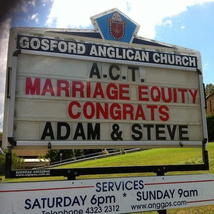 Australian Christians for Marriage Equality | the social & media discourse of marriage equality and rainbow families | Scoop.it