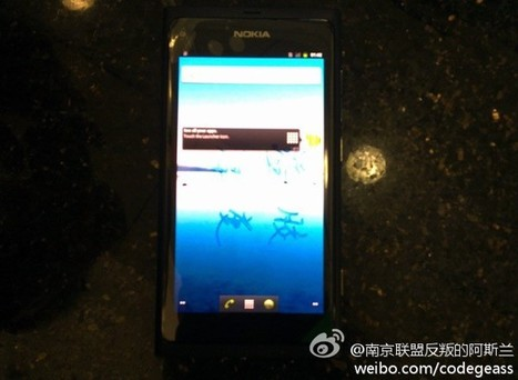 'Nokia N9′ – with Android? : My Nokia Blog | Nokia, Symbian and WP 8 | Scoop.it