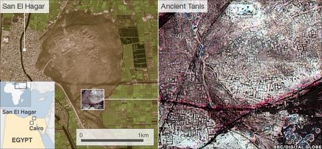 Egyptian pyramids found by infra-red satellite images | Visions aériennes | Scoop.it
