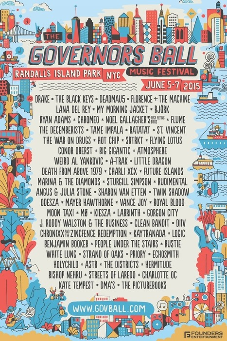 Governors Ball announces lineup, Deadmau5 to headline | DJing | Scoop.it