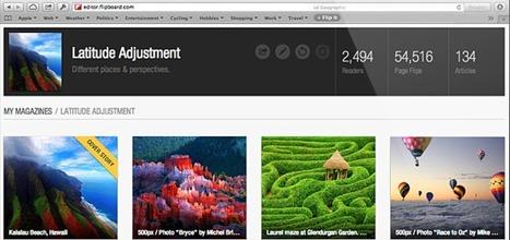 Flipboard se lance sur le web et concurrence directement Scoopit et Paperli | Les réseaux sociaux : je surveille, tu surveilles... | Scoop.it
