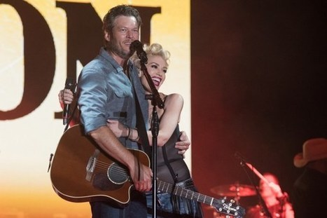 Blake Shelton Joins Gwen Stefani for a Duet in Dallas | Country Music Today | Scoop.it